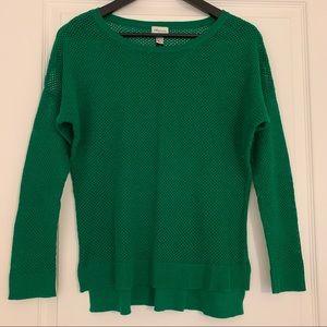 Dynamite Light Dolman-Sleeve Green sweater